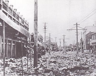 中国人襲撃事件後の平壌(1931年7月)