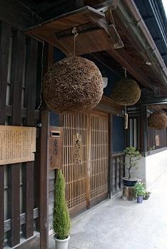 造り酒屋の玄関