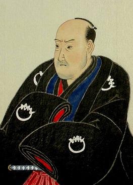 初代歌川豊国肖像。初代歌川国貞画。