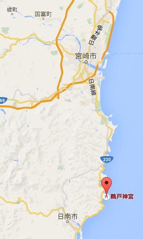 鵜戸神宮 地図