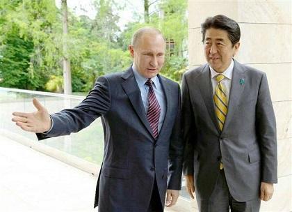 安倍総理 プーチン