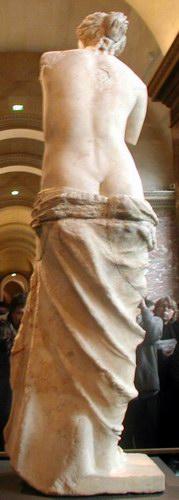 ミロのヴィーナス 背面