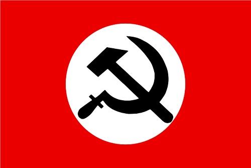 国家ボリシェヴィキ党の党旗