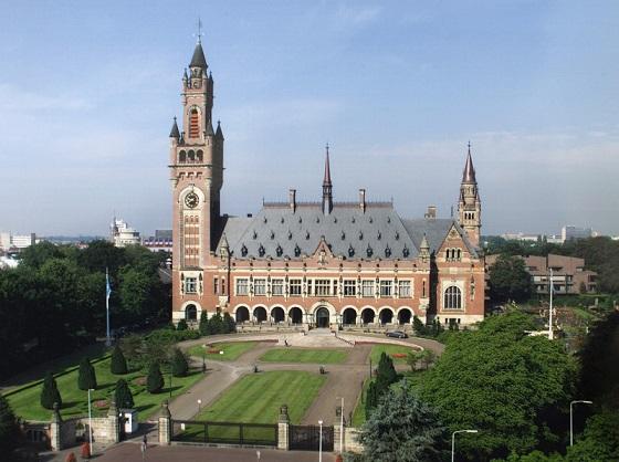 国際司法裁判所が設置されているオランダ・ハーグの「平和宮」