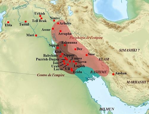 ウル第3王朝とその勢力圏