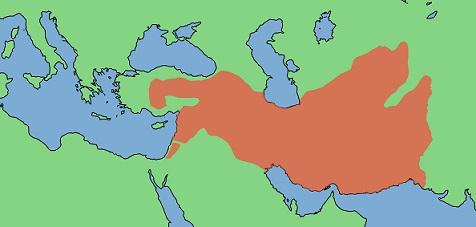 セレウコス朝の最大領土