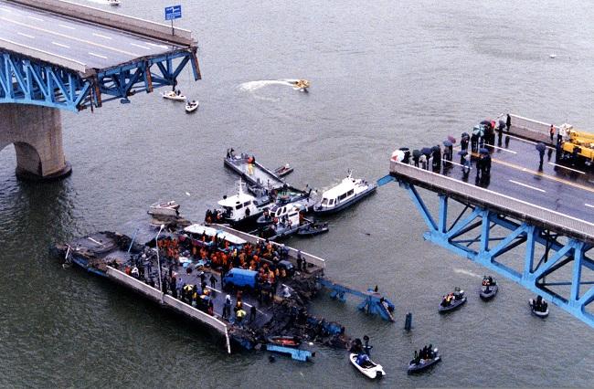 1994年 聖水大橋の大崩壊