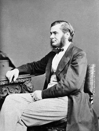 1860年代に撮られたハクスリーの写真