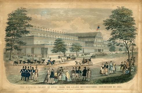 1851年のロンドン万国博覧会