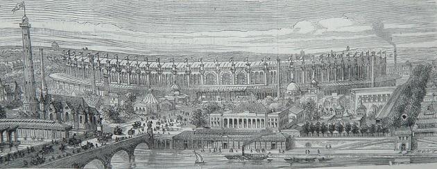 1867年のパリ万国博覧会