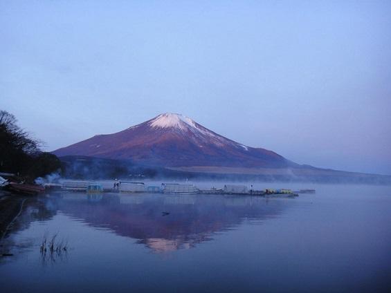 富士山 山中湖
