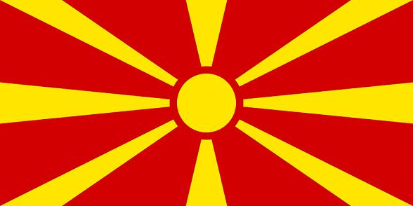 マケドニア共和国の国旗
