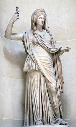 ヘレニズム時代の原物を摸したローマのヘーラー像