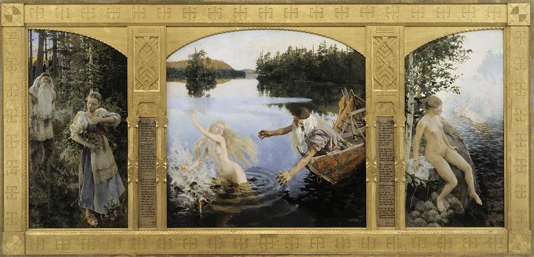 アクセリ・ガッレン=カッレラ 『アイノ』 1891年