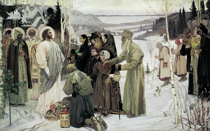 ミハイル・ネステロフ 『聖なるルーシ』