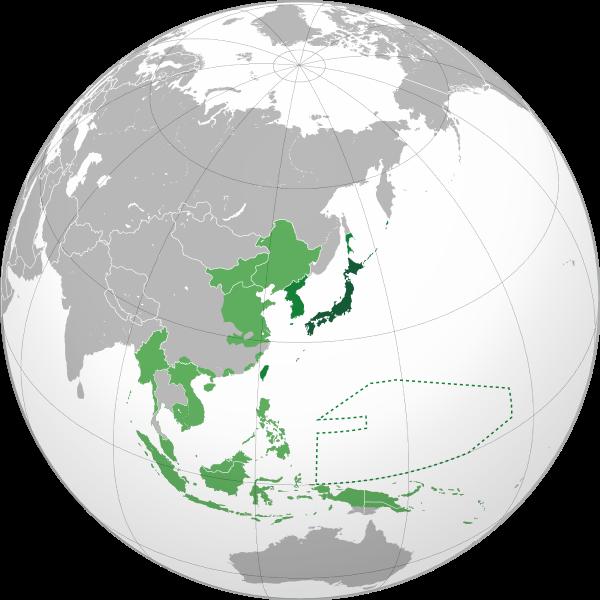 大日本帝国 最大行政統治・軍事勢力圏