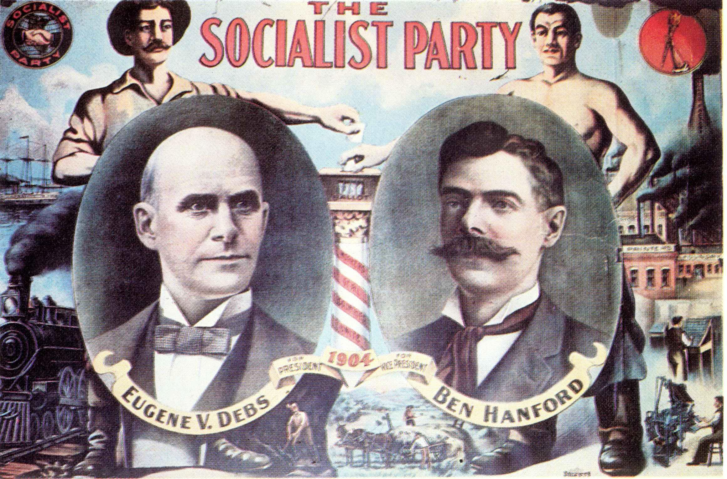 1904年大統領選のポスター