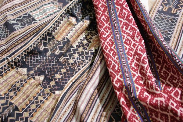 ティモール島の織物