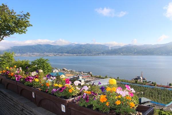 2016.05.28 富士五湖旅行 1日目① 諏訪湖SA-1