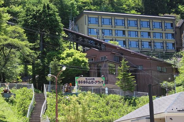 2016.05.30 富士五湖旅行 1日目⑥ 河口湖カチカチ山ロープウェイ-1