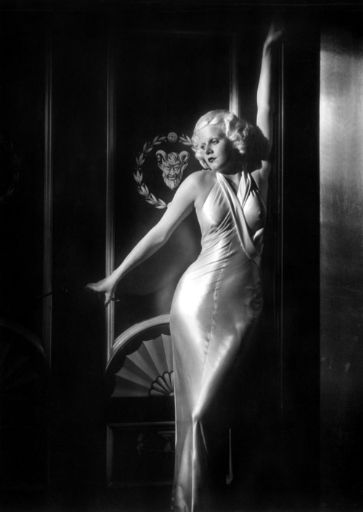 500 jean harlow 30s glamour silk gown_512