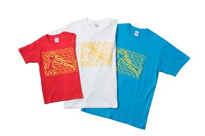 Tシャツ 3色