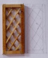格子窓製作中です