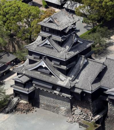 熊本城被災
