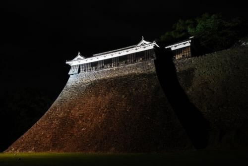 ku.熊本城 20160414 地震8-1
