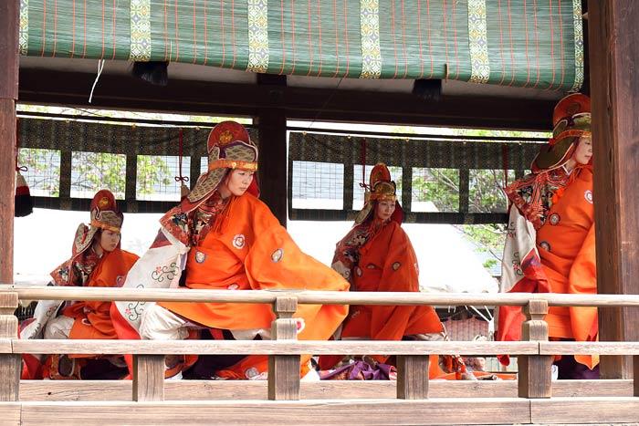 氷室神社 献氷祭の舞楽1