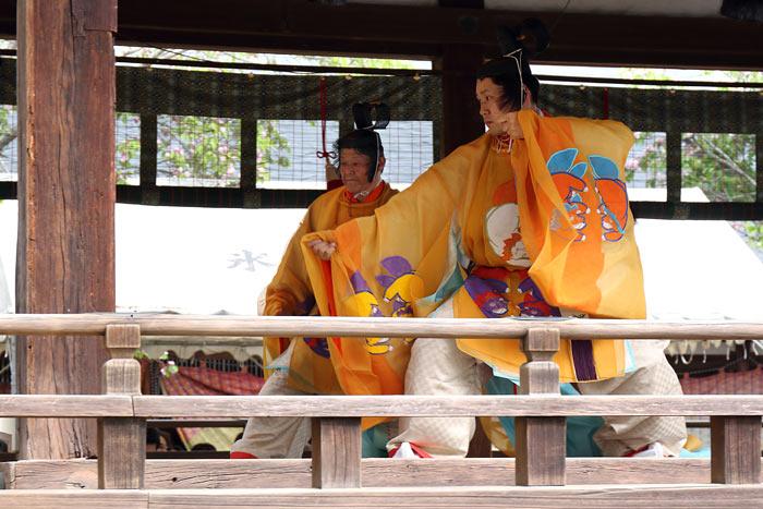 氷室神社 献氷祭の舞楽2