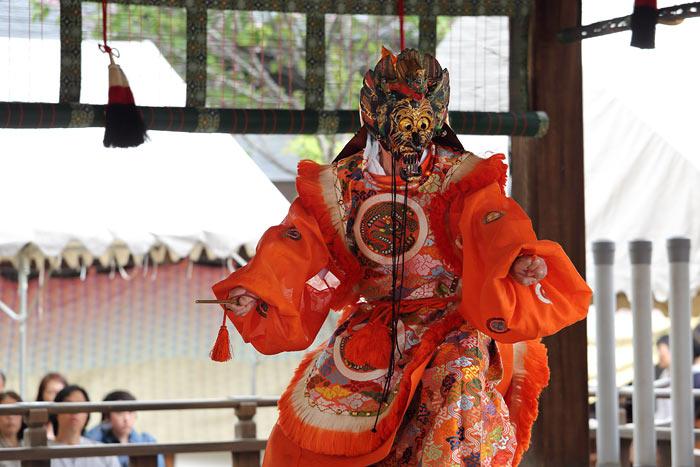 氷室神社 献氷祭の舞楽3