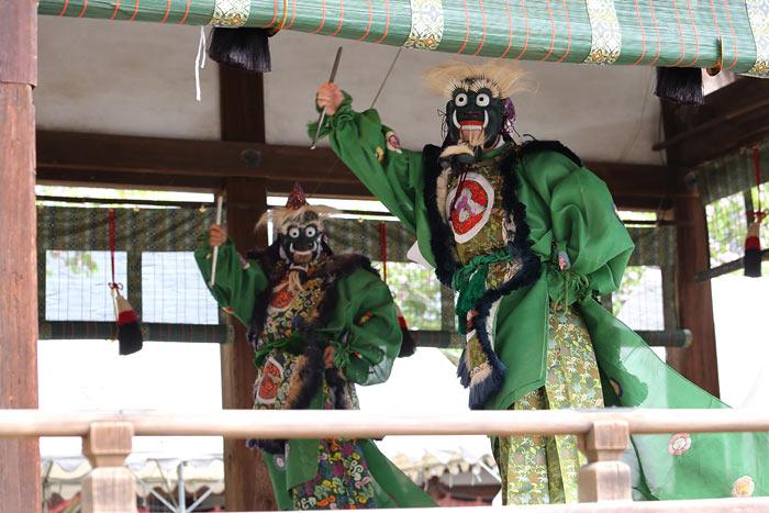 氷室神社 献氷祭の舞楽4