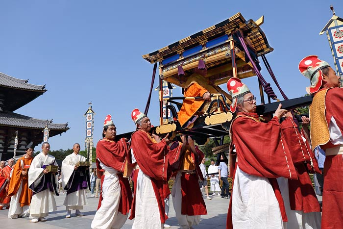 東大寺 聖武天皇祭4