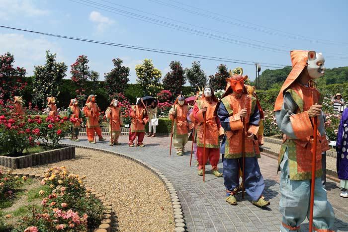 霊山寺 薔薇会式・えと祭り2