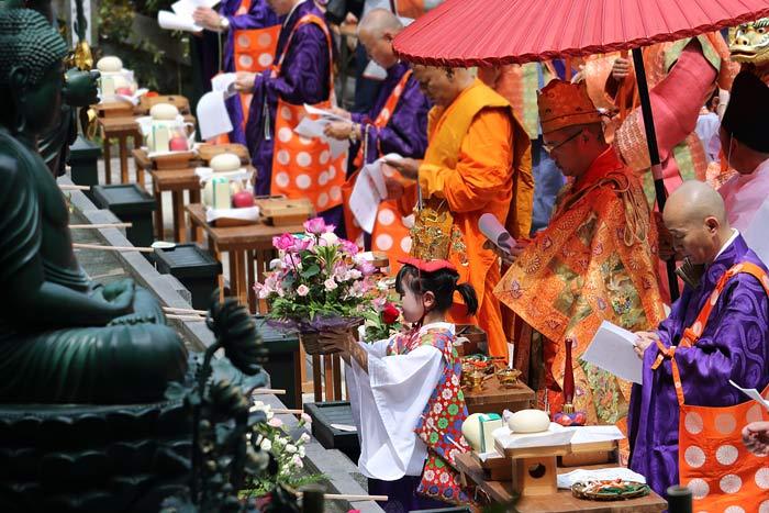 霊山寺 薔薇会式・えと祭り3