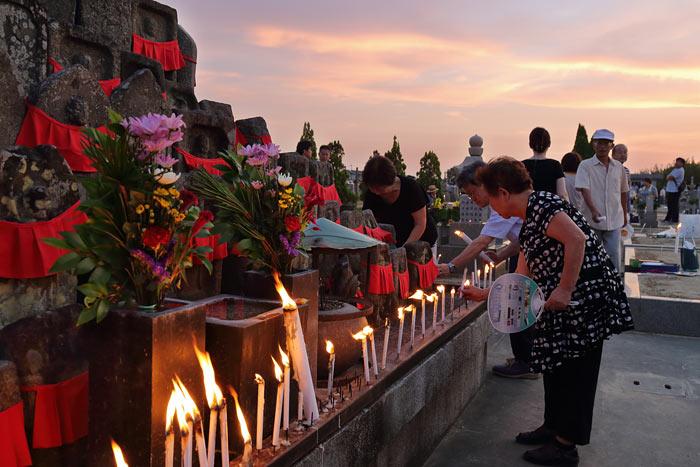 八ヶ郷 墓会式1