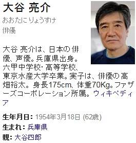 ④高畑裕太父は大谷亮介だった!高畑淳子は不倫していた!芸能人の9割はコリアン!
