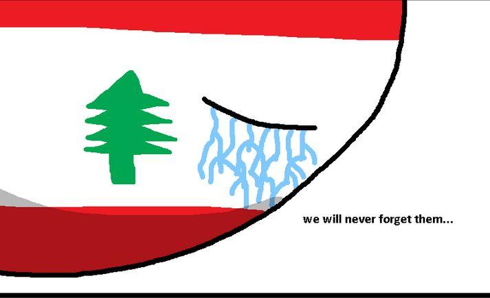 レバノン 国旗 昔