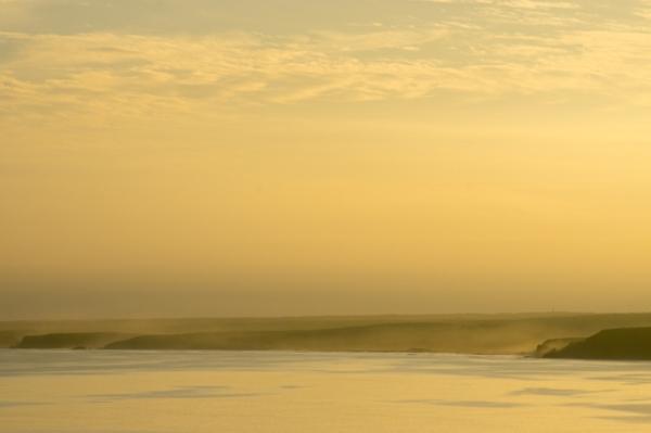 岬からの夕景@@@