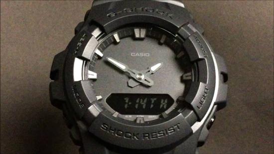 CASIO G-SHOCKG-100BB-1AJF