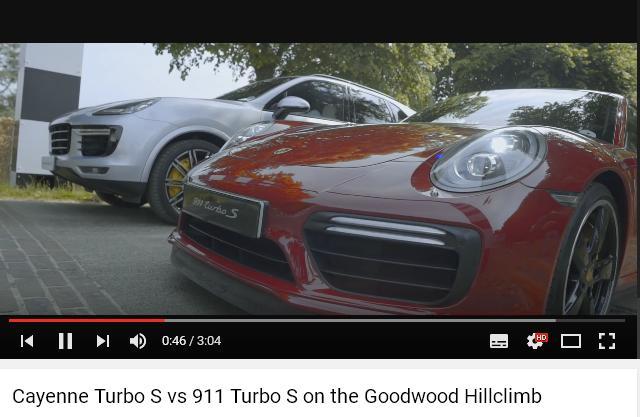 Porscheポルシェ991ターボS_カイエンターボS_Goodwood2016_02