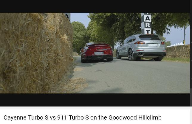 Porscheポルシェ991ターボS_カイエンターボS_Goodwood2016
