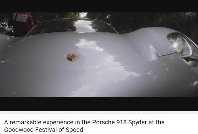 Porscheポルシェ918_Goodwood2016_002