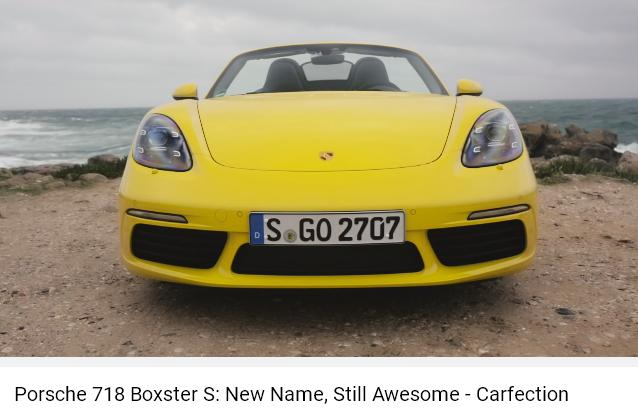 Porscheポルシェ718ボクスターS_CF_AWE005
