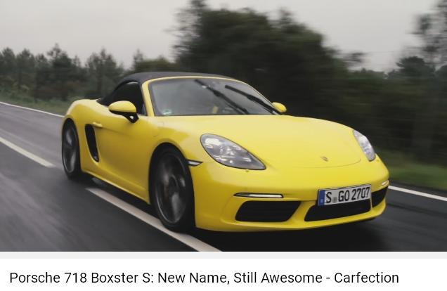 Porscheポルシェ718ボクスターS_CF_AWE004