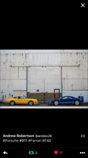 Porscheポルシェ911_F40_TW_20160811