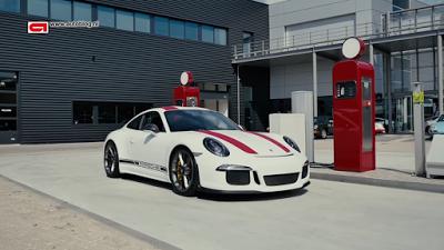 ポルシェ911R(Type991)Porsche 911 R review Autoblog_003