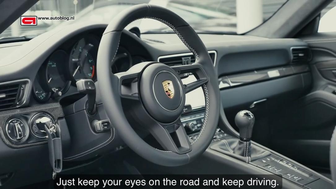 ポルシェ911R(Type991)Porsche 911 R review Autoblog_005
