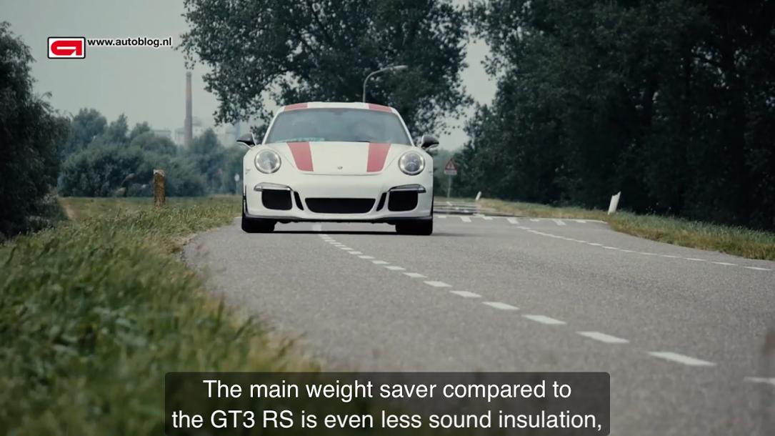 ポルシェ911R(Type991)Porsche 911 R review Autoblog_006